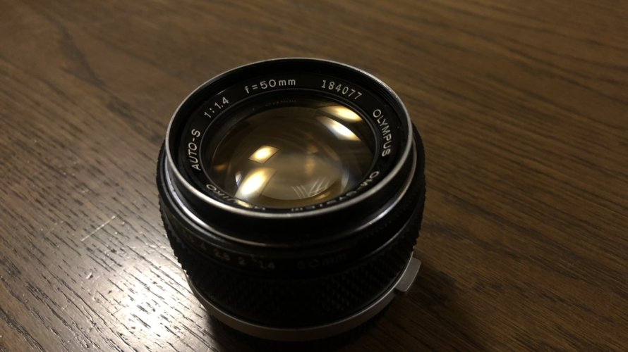 img 8777 890x500 - G.ZUIKO AUTO-S 50mm F1.4 修理